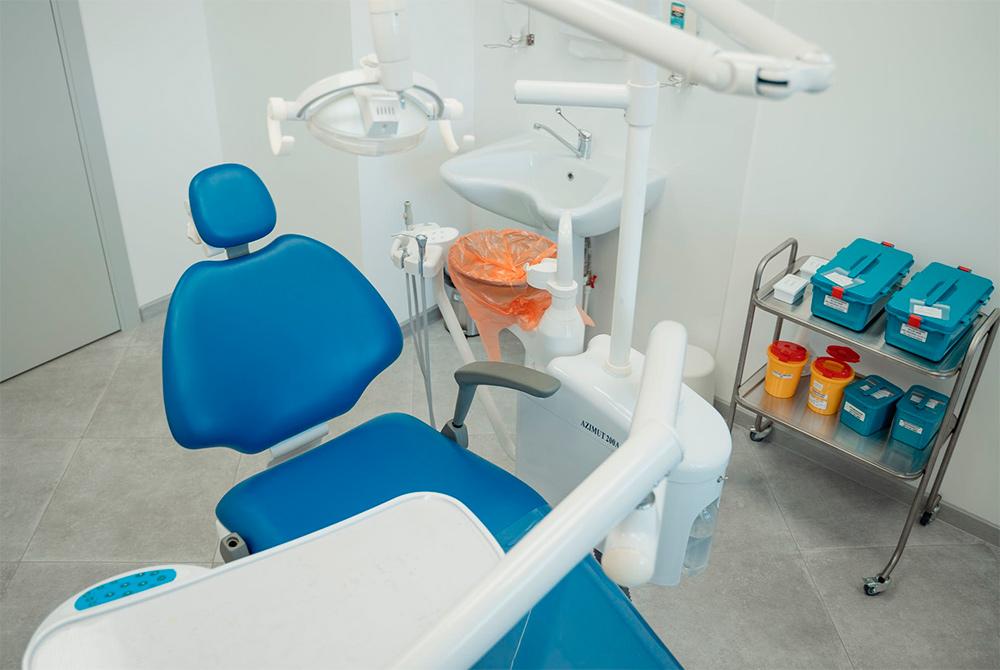 clínica dental limpia