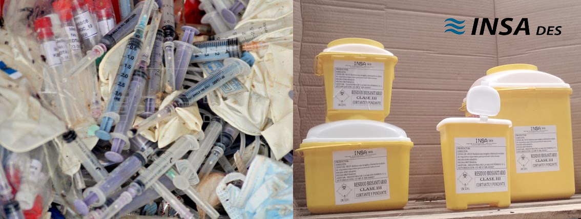 contenedores para residuos biosanitarios