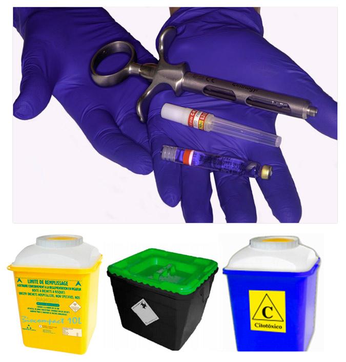 gestión de residuos sanitarios clínicas estéticas