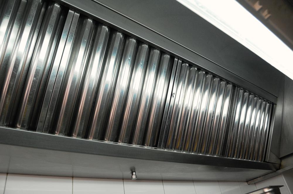 conductos de extracción de cocina limpios